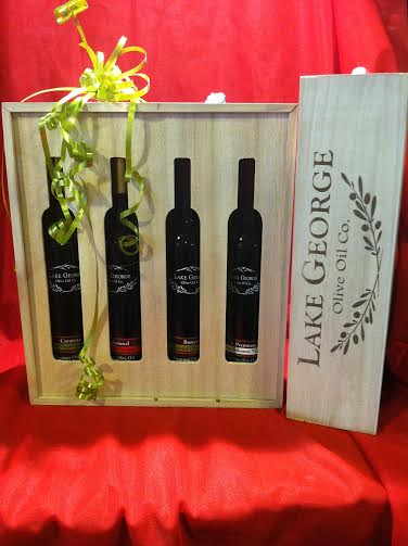 Boxed Gift Set with 4 of our 200 mL Bottles